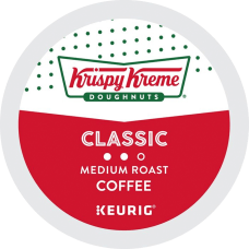 Krispy Kreme Doughnuts Smooth Medium Roast
