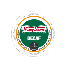 Krispy Kreme Doughnuts Decaffinated Coffee Single