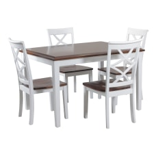 Powell Howard 5 Piece Dining Set