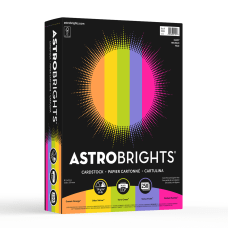 Astrobrights Colored Cardstock 85 x 11