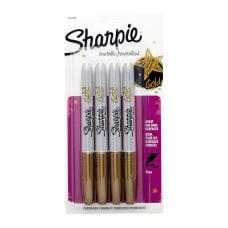 Sharpie Metallic Permanent Markers Fine Point