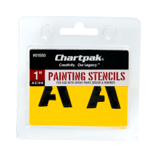 Chartpak Pickett Painting Stencils NumbersLetters 1