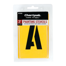 Chartpak Pickett Painting Stencils NumbersLetters 3