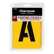 Chartpak Pickett Painting Stencils NumbersLetters 4