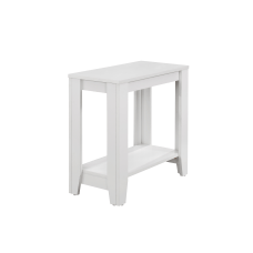 Monarch Specialties Side Table With Shelf