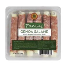 Daniele Genoa Panini Salame Wrapped Mozzarella