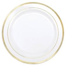 Amscan Plastic Plates With Trim 12