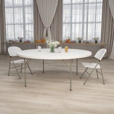 Flash Furniture Round Plastic Folding Table