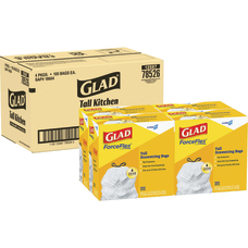Glad Strong Tall Kitchen Trash Bags