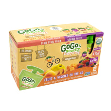 Materne GoGo Squeez Pouches Organic Fruit