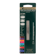 Monteverde Mini Ballpoint Pen Refills Medium