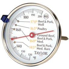 Taylor 5939N Meat Dial Thermometer 120