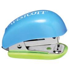 Westcott Antimicrobial Mini Stapler Assorted Colors