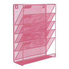 Mind Reader Wall File Rack Organizer