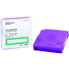 HPE LTO 6 Ultrium 625TB MP