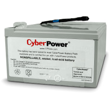CyberPower RB12120X2B Replacement Battery Cartridge 2