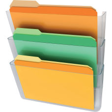 deflect o Stackable Wall Pocket File
