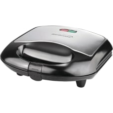 Brentwood Sandwich Maker Black Black Brushed