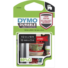 Dymo Durable D1 Labels 12 Rectangle