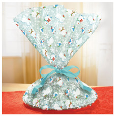 Amscan Christmas Frosty Friends Cellophane Cookie