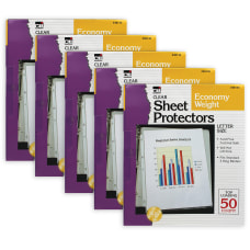 Charles Leonard Top Loading Sheet Protectors