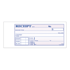 Adams MoneyRent Receipt Books 7 316