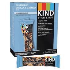 KIND Blueberry Vanilla And Cashew Fruit