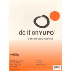 Yupo Watercolor Pads 9 x 12