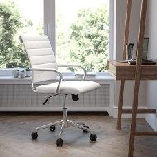 Flash Furniture LeatherSoft Mid Back Executive