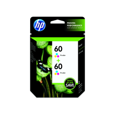 HP 60 Tricolor Original Ink Cartridges
