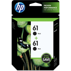HP 61 Black Ink Cartridges CZ073FN