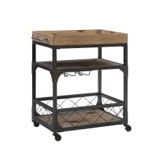 Powell Home Fashions Donat Bar Cart