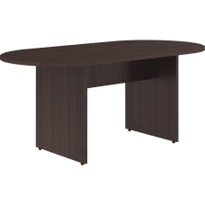 Lorell Essentials Oval Conference Table 29