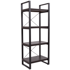 Flash Furniture 62 H 4 Shelf