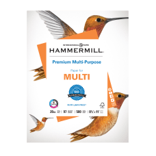 Hammermill Premium Multi Use Paper Letter