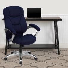Flash Furniture Ergonomic Microfiber High Back
