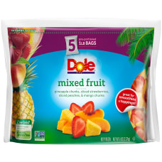 Dole Frozen Mixed Fruit 1 Lb