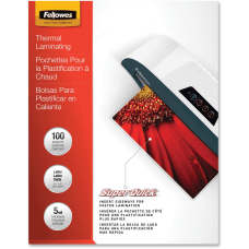Fellowes SuperQuick Laminating Pouches Glossy 85
