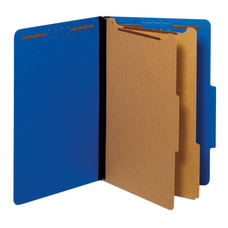 Pendaflex Pressboard Classification Folders With Fasteners