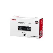 Canon CRG 119 Black Toner Cartridge