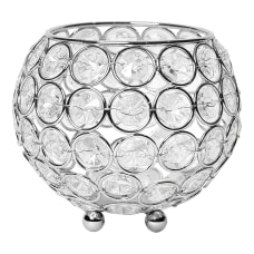 Elegant Designs Elipse Crystal Bowl 4