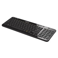 Logitech K360 Wireless Keyboard Compact Black