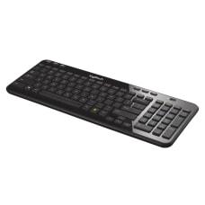 Logitech K360 Wireless Keyboard Compact Black
