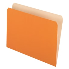 Pendaflex Straight Cut Color File Folders