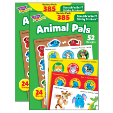 Trend Stinky Stickers 1 Animal Pals