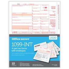 Office Depot Brand 1099 INT Laser