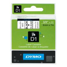 DYMO D1 40910 Black On Clear