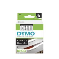 DYMO D1 45800 Black On Clear