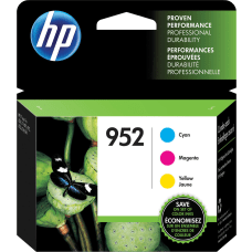 HP 952 Tri Color Ink Cartridges