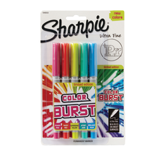 Sharpie Color Burst Permanent Markers Ultra